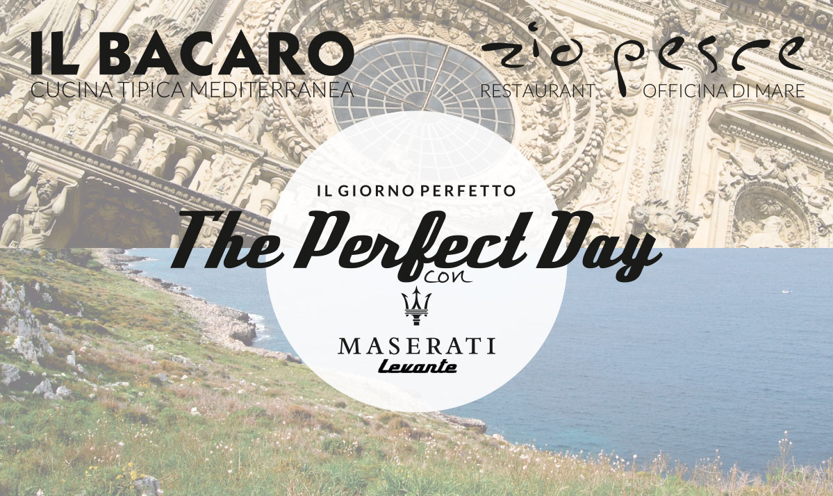 The Perfect Day con Maserati Levante